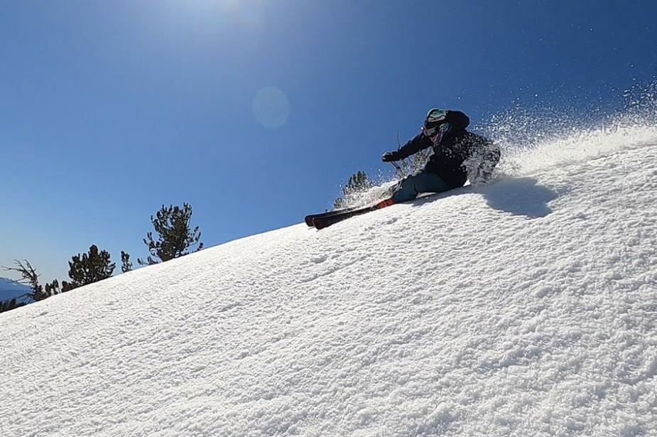 Mt. Bachelor's spring conditions were the perfect product testing playground