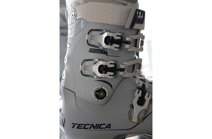 2017-18 Tecnica Mach1 105w MV at America's Best Bootfitters Boot Test