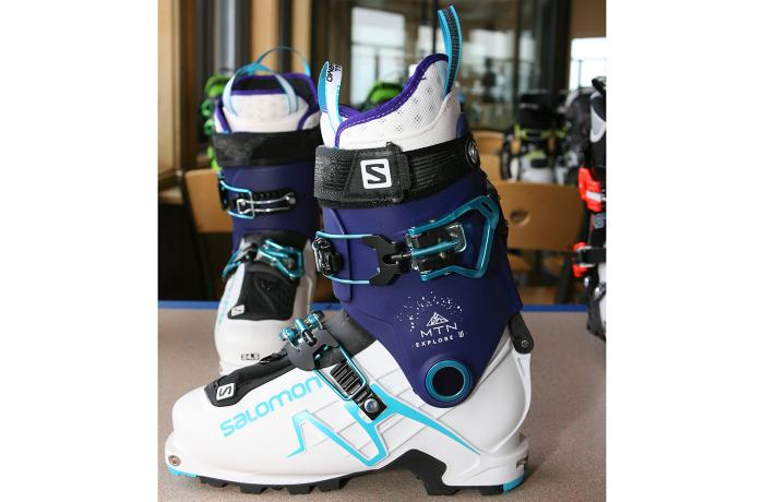 2017-18 Salomon MTN Explore W at America's Best Bootfitters Boot Test