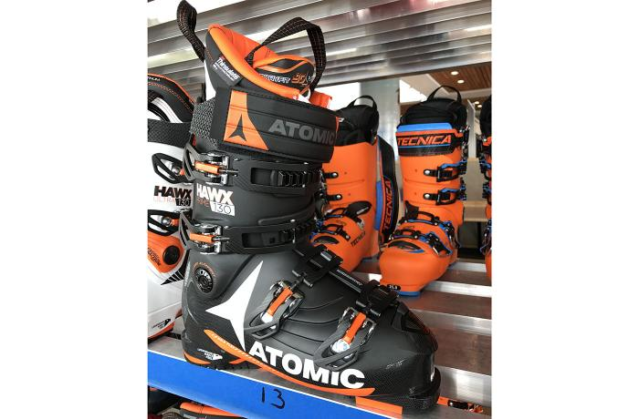 2017-18 Atomic Hawx Prime 130 at America's Best Bootfitters Boot Test