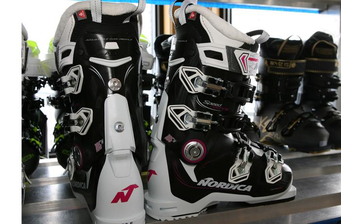 2017-18 Nordica Speedmachine 105 W at America's Best Bootfitters Boot Test